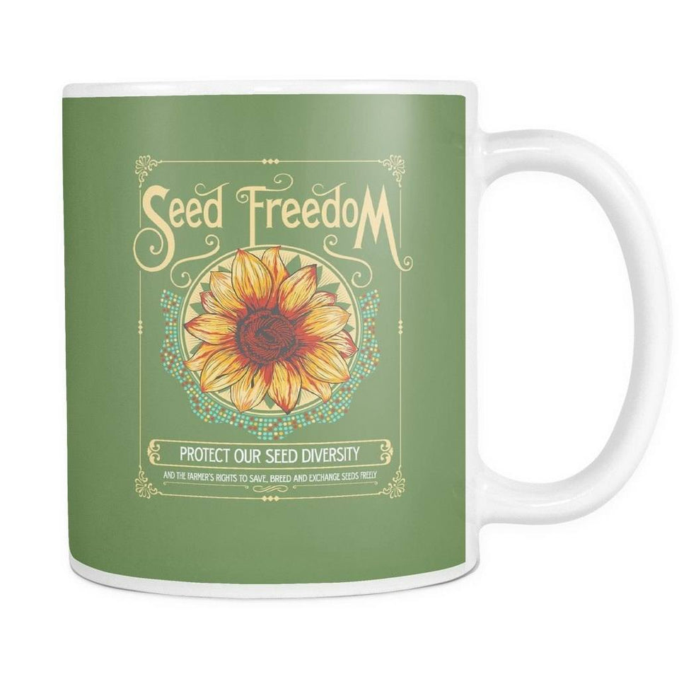 "Drinkware - ""Seed Freedom"" 11oz. Mug"
