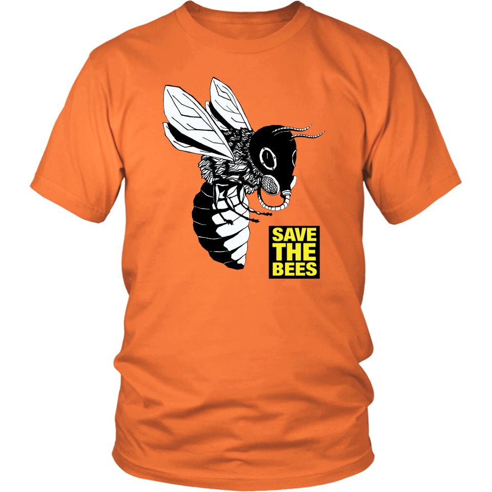 Save the Bees (Gasmask) - Unisex Tee