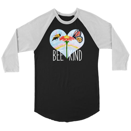 Bee Kind - 3/4 Raglan