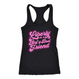 Liberty is a Girl's Best Friend - Tank Top