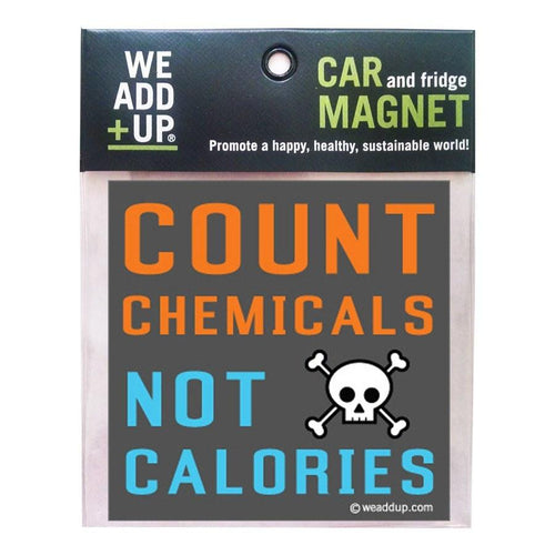 Magnet - Count Chemicals Magnet
