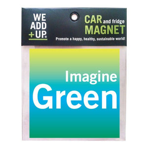 Magnet - Imagine Green Magnet