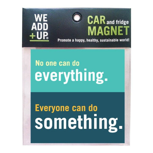 Magnet - No One Can Do Everything Magnet