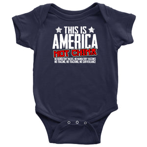 This is America Not China - Onesie