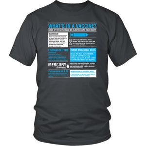 What's in a Vaccine - Unisex Tee