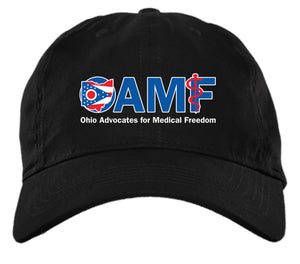 OAMF logo - hat OAMF - Brushed Twill Unstructured Cap