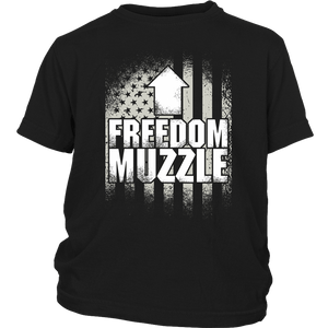 Freedom Muzzle (arrow) - Youth Tee