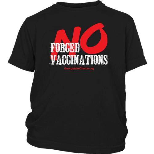 GCVC - No Forced Vaccinations - Youth Tee