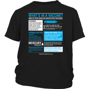 HFLA - What's in a Vaccine - Youth Tee