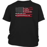 GCVC - American Flag No Fear - Youth Tee