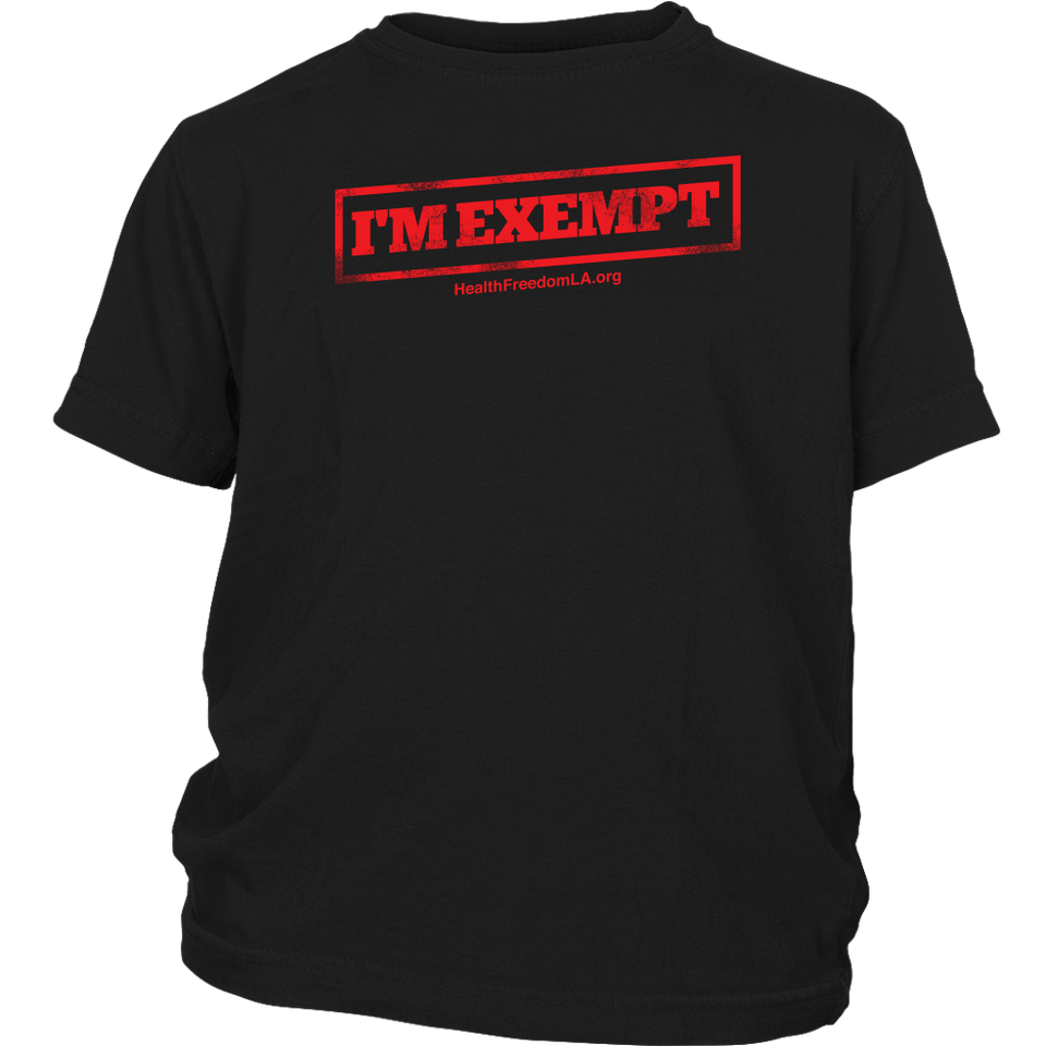 HFLA - I'm Exempt - Youth Tee
