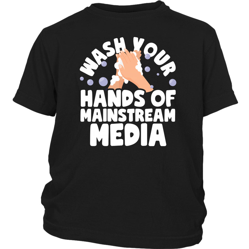 Wash Your Hands of Mainstream Media - Youth Tee
