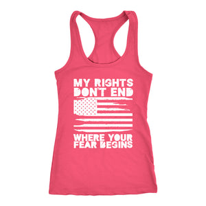 My Rights Don't End Where Your Fear Begins - Tank Top