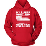 HFLA - My Rights Don't End Where Your Fear Begins - Hoodie