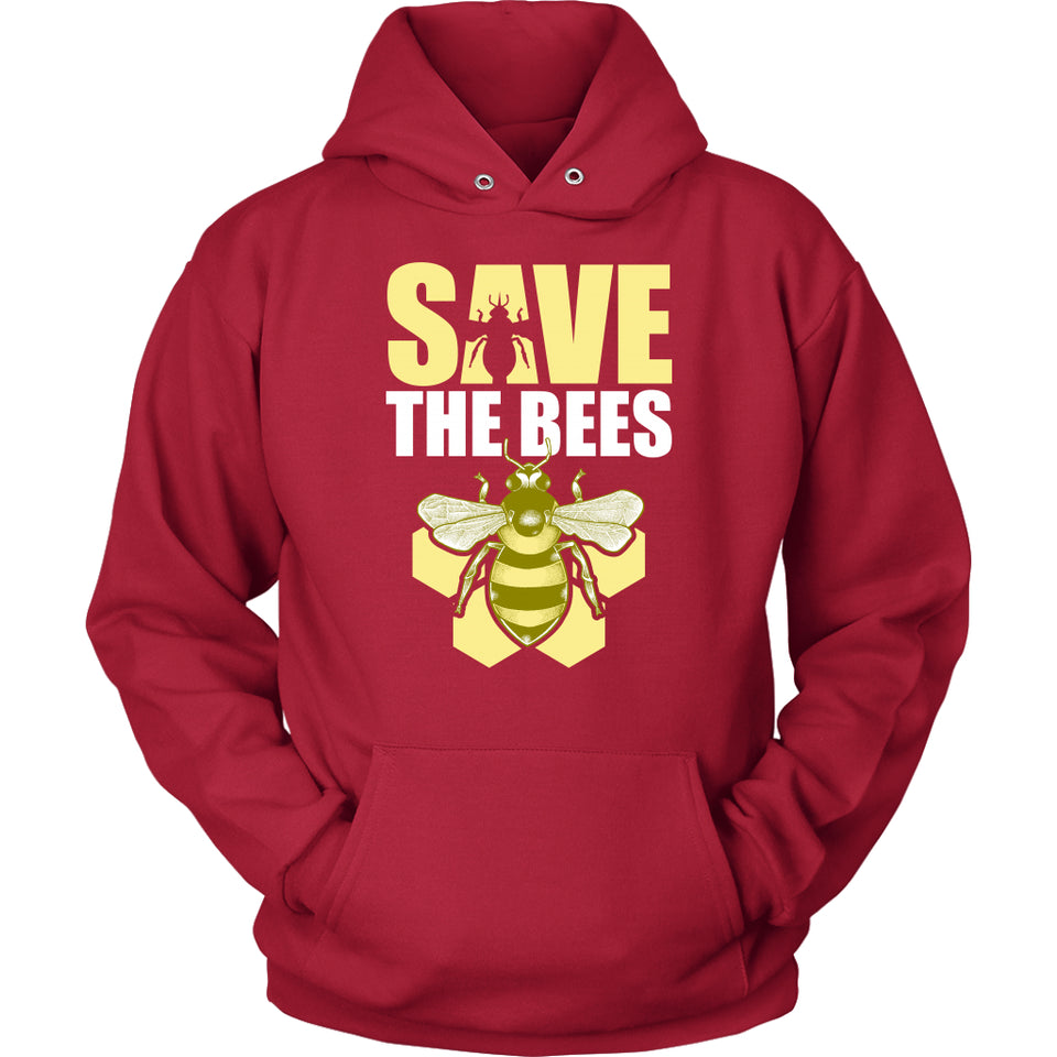 Save the Bees (Honeycomb) - Hoodie