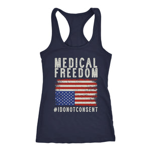 Medical Freedom #IDoNotConsent - Tank Top