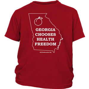 GCVC - Georgia Chooses Health Freedom - Youth Tee
