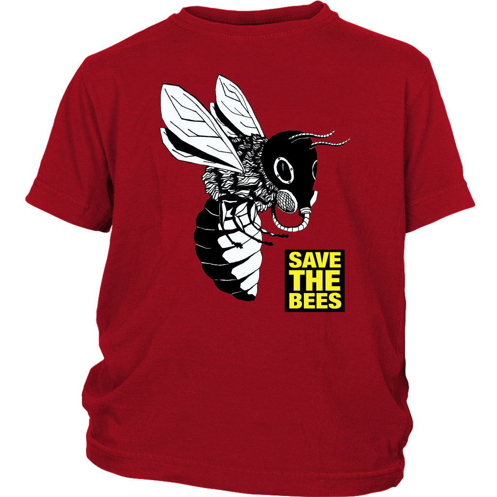 Save the Bees (Gasmask) - Youth Tee