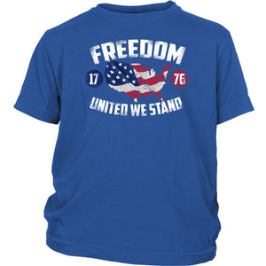 Freedom 1776 United We Stand - Youth Tee