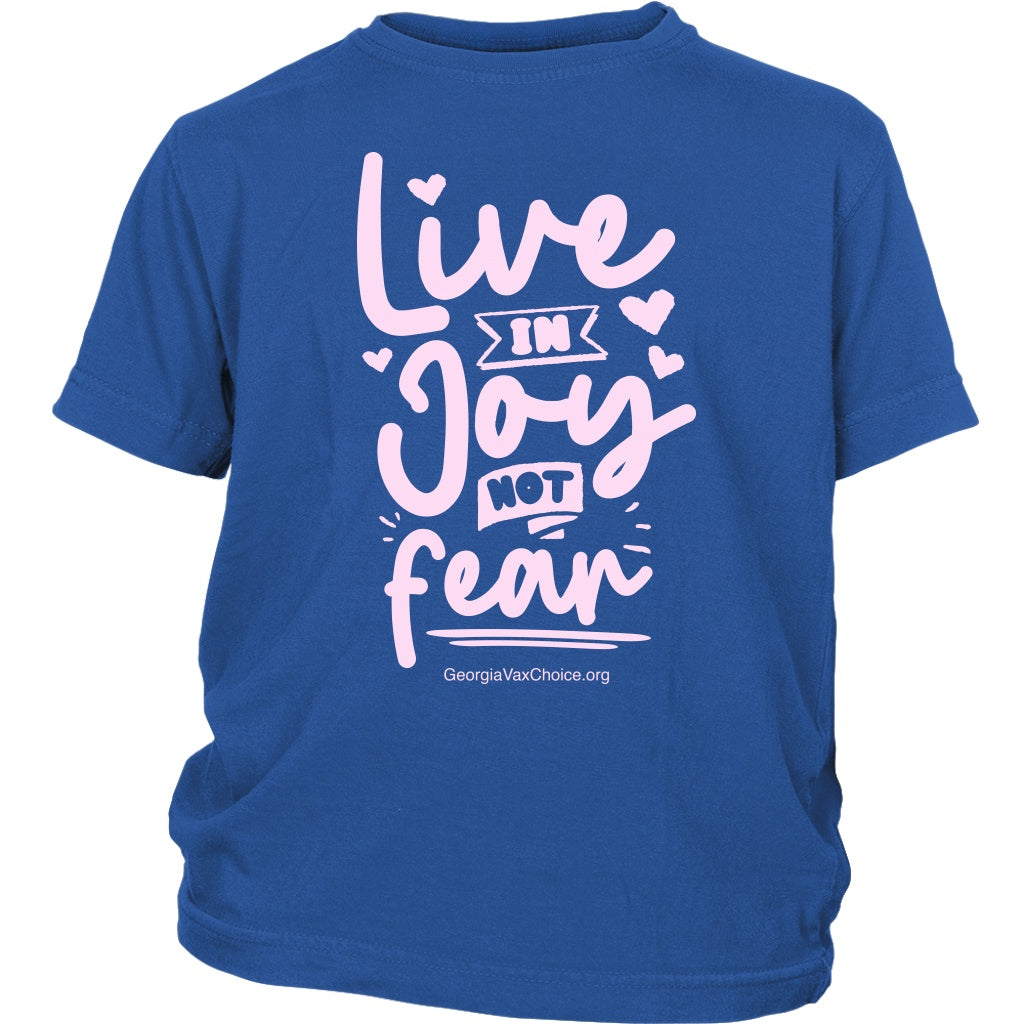 GCVC - Live in Joy Not Fear - Youth Tee