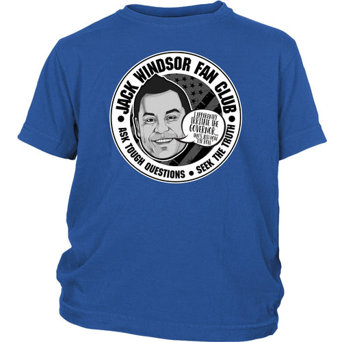 Jack Windsor Fan Club - Youth Tee