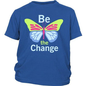 T-shirt - Be The Change - Kids Shirt