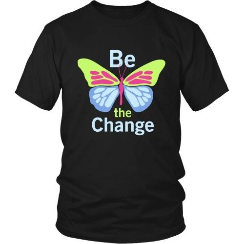 T-shirt - Be The Change - Unisex Tee