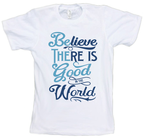 "T-shirt - ""Be The Good"" Unisex T-Shirt (Organic Cotton)"
