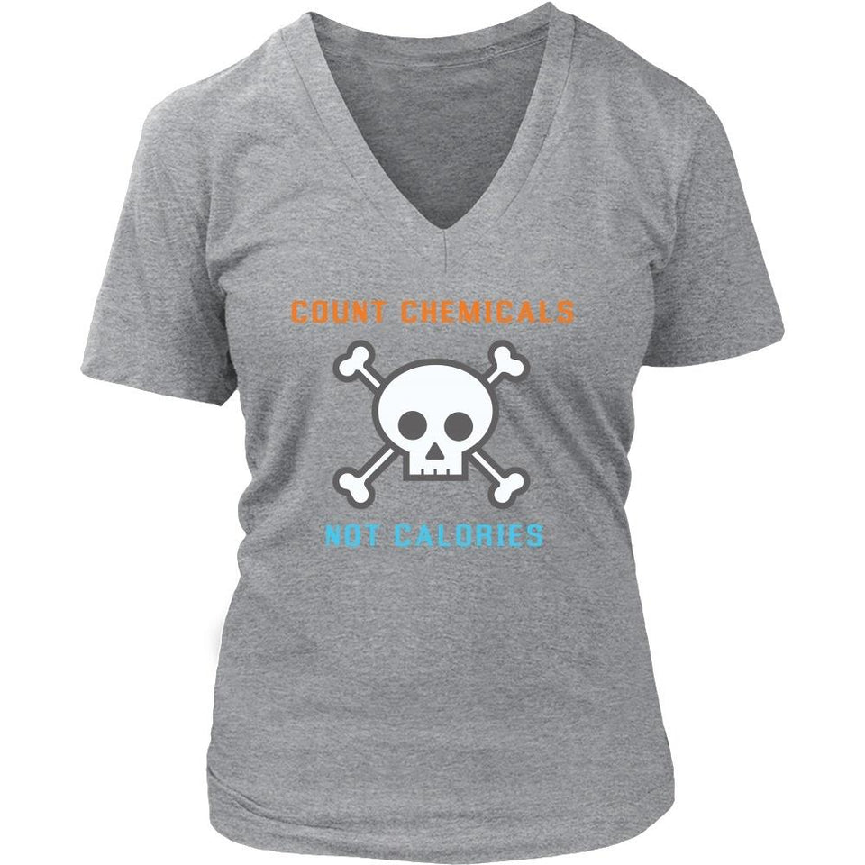 T-shirt - Count Chemicals Women's V-Neck Shirt