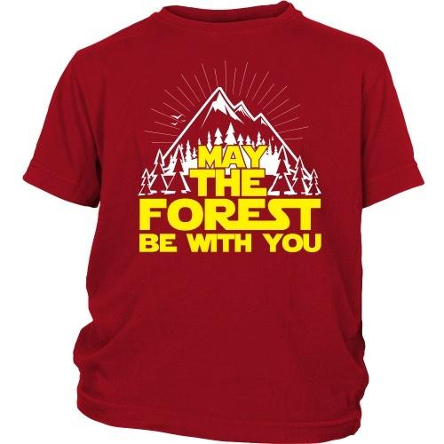 T-shirt - May The Forest Be With You - Kid's Tee