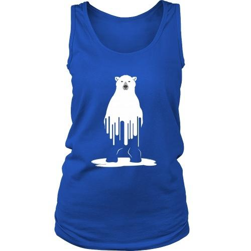 T-shirt - Melting Polar Bear - Women's Tank