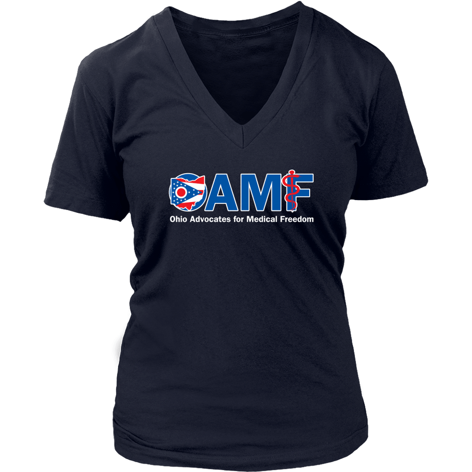 T-shirt - OAMF - Women's V-Neck Tee