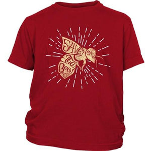 T-shirt - Save The Bees (Starburst) - Kid's Shirt