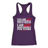 GCVC - You Are Not Responsible For My Health - Tank TOp