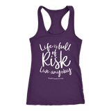 HFLA - Life is Full of Risk Live Anyway - Tank Top