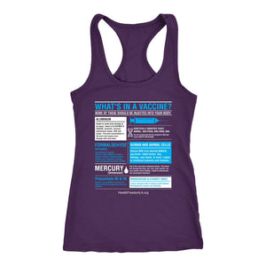 HFLA - What's in a Vaccine - Tank Top