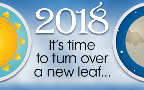 2018 is the Time to turn over a new leaf, and put on a Fresh Face.