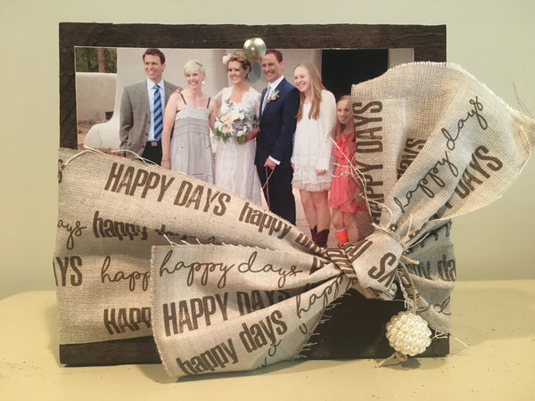 Picture Frame-'Happy Days'