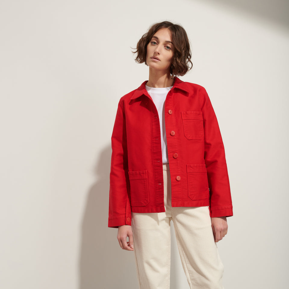 Work Jacket Red