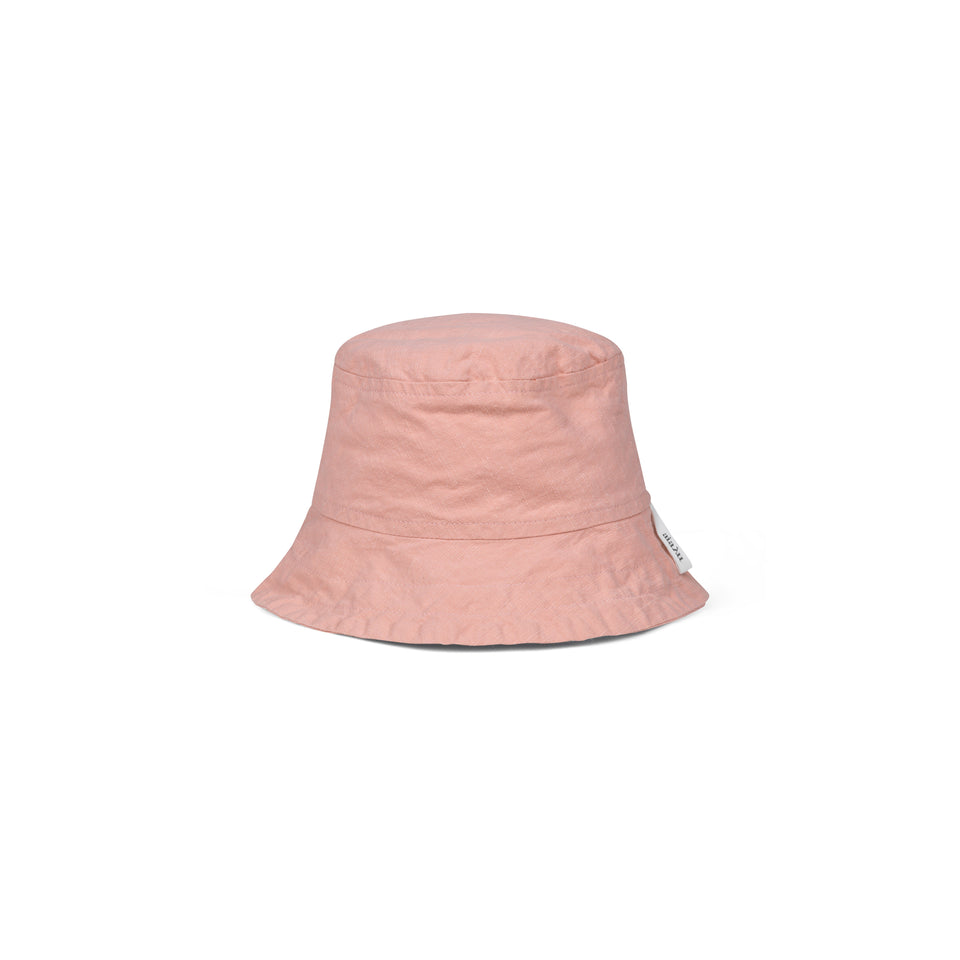 Nina Hat Cotton Slub Rosewater