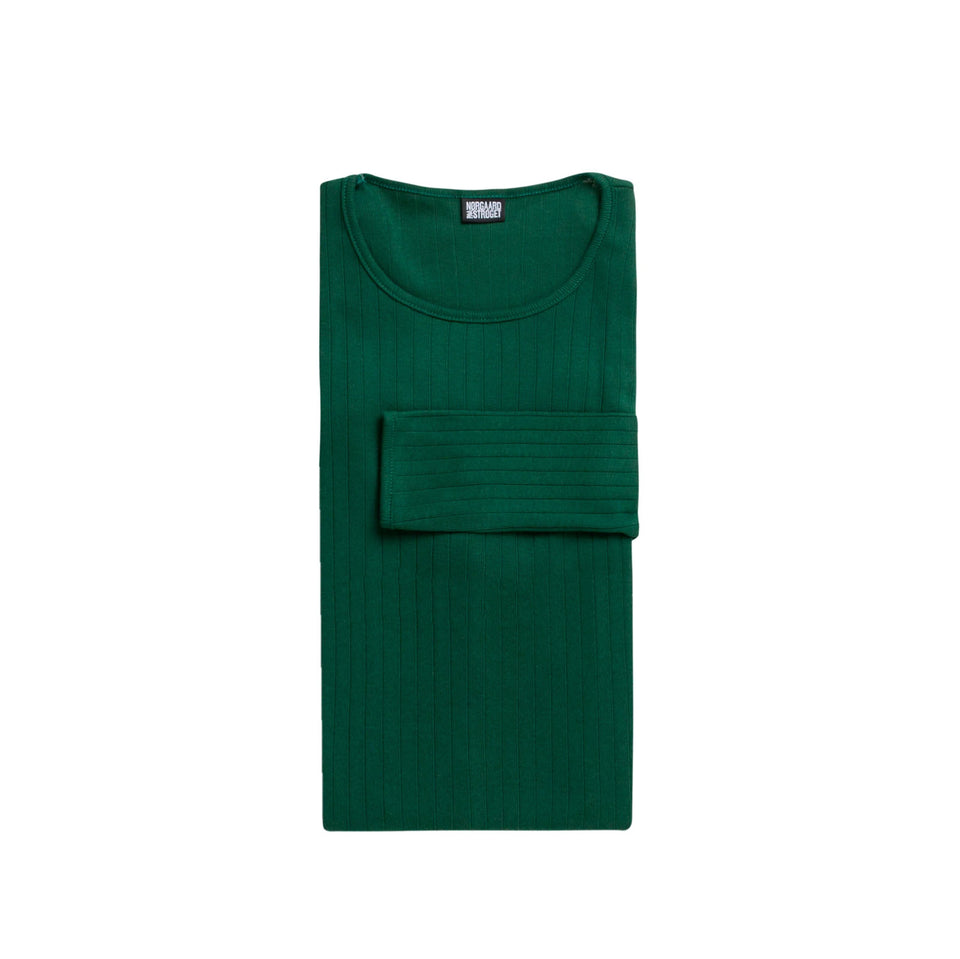 101 Solid Colour, Bottle green (LANG)