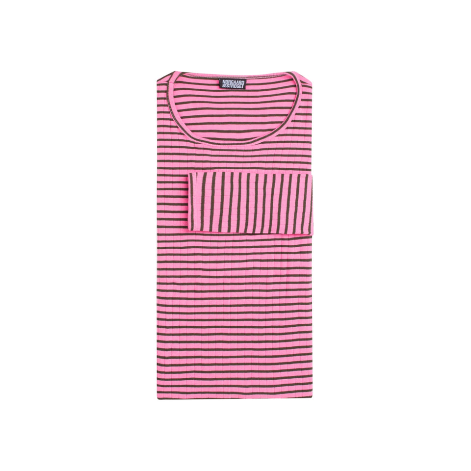 101 NPS Stripes, Light pink/Army (LANG)