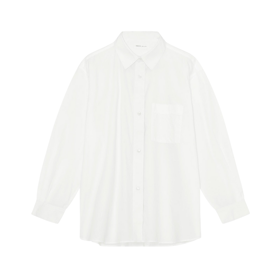 Edgar Shirt Optic White