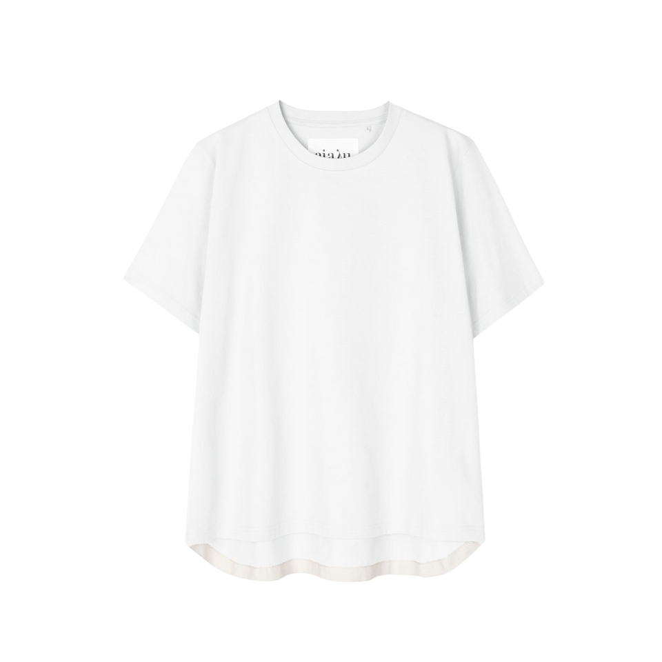 Short Sleeve Tee White