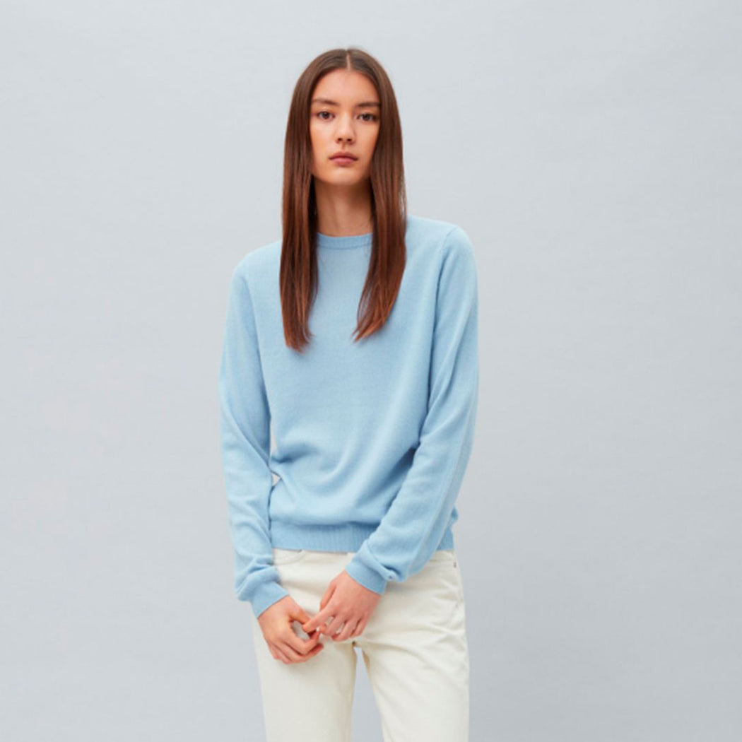 Womens Roundneck Light Blue