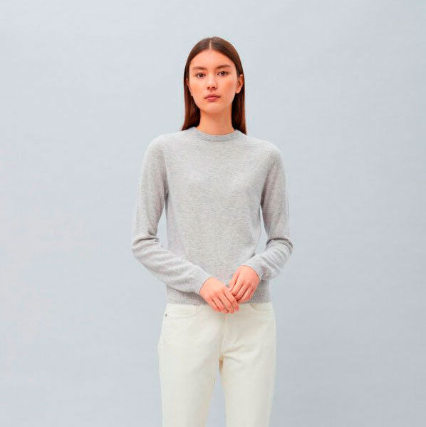 Women's Roundneck  Ash Grey