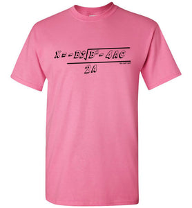 Quadratic Formula T-Shirt