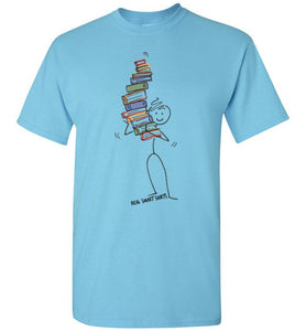 Book Stick Figure Shirt