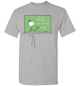 Math Stick Figure Shirt