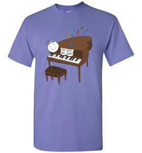 Piano Stick Figure Shirt